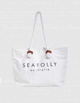 Сумка пляжная Seafolly белая