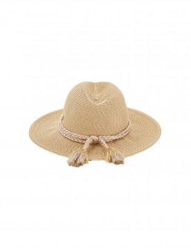 Шляпа Seafolly соломка золотистая