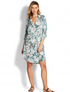 Платье Seafolly цветочный принт