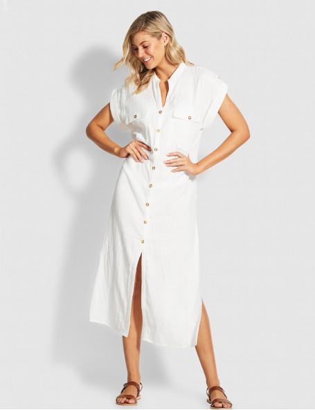 Платье Seafolly белое